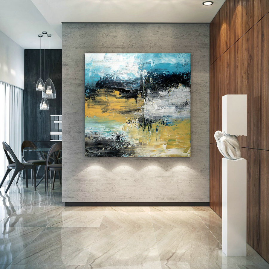 Large Abstract Painting,Modern abstract painting,original painting,modern wall canvas,abstract painting,textured wall decor BNc018