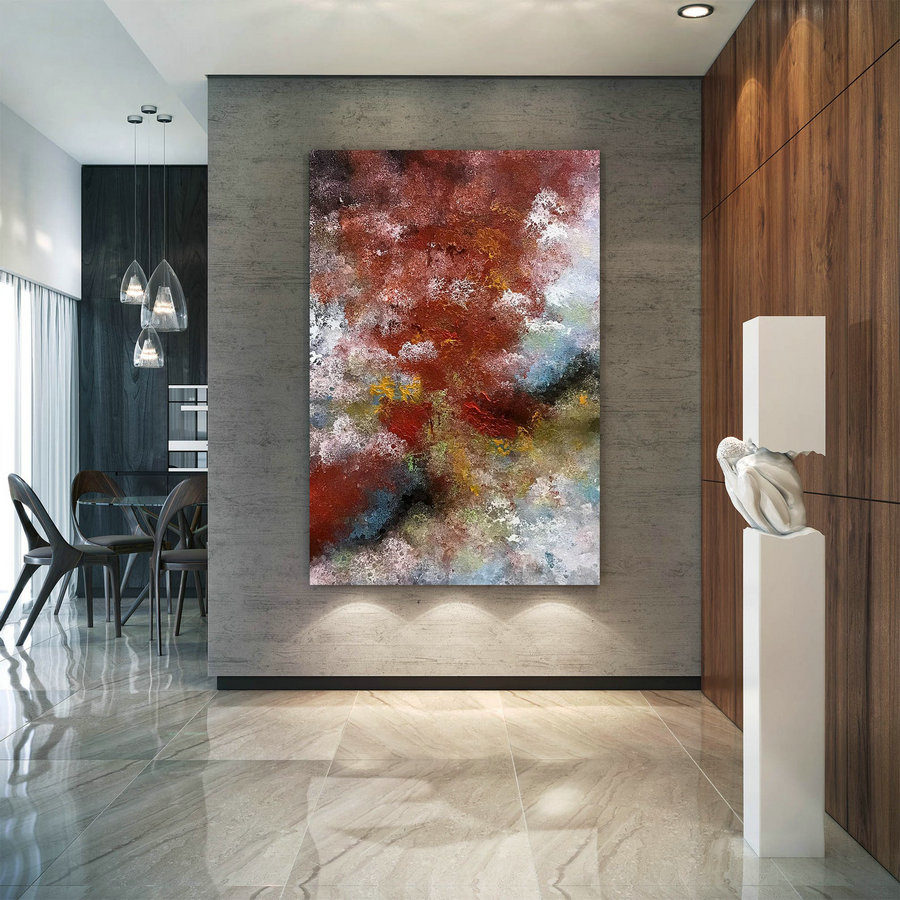 Original Abstract Canvas Art,Large Abstract Canvas Art,oil abstract canvas,painting original,xl abstract painting B2c027
