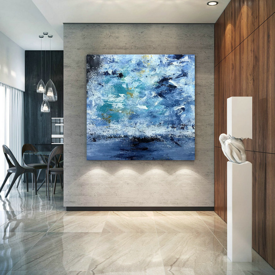 Large Abstract Painting,Modern abstract painting,painting colorful,abstract canvas art,colorful abstract,textured wall decor B2c005
