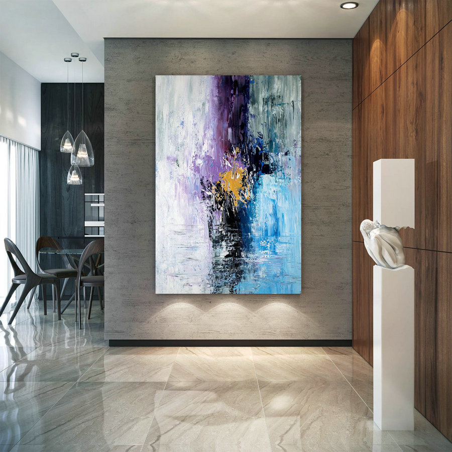 Large Abstract Painting,Original Painting Large Paintings,above bed decor,oil hand painting,large interior decor BNc024