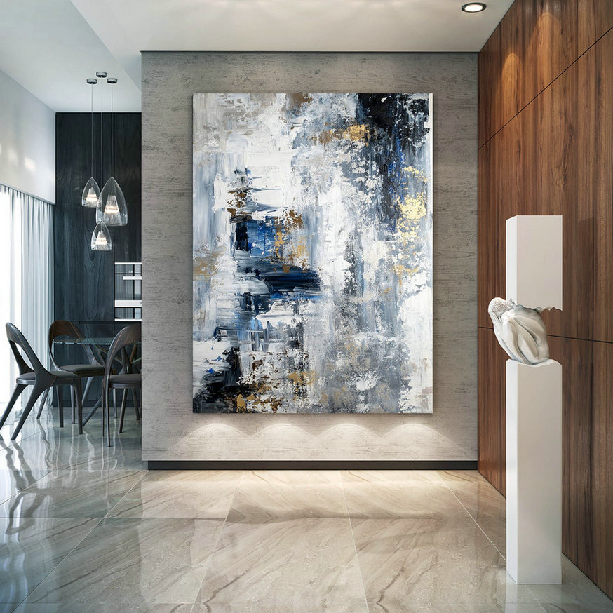 Large Abstract Painting,Modern abstract painting,oil hand painting,office wall art,original abstract,textured art BNC023