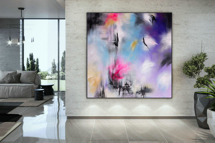Large Abstract Painting,acrylics paintings,extra large wall art,abstract painting,texture wall art DMC211