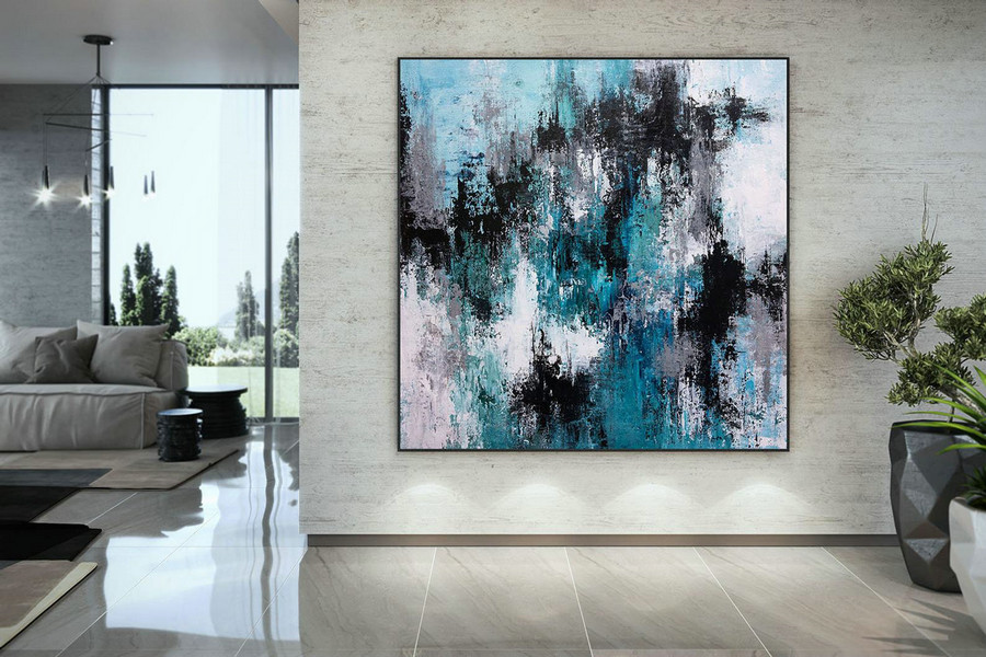 Large Modern Wall Art Painting,Large Abstract wall art,texture painting,colorful abstract,abstract wall art,texture wall art DMC194