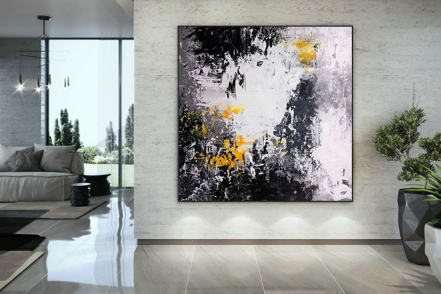 Extra Large Wall Art Original Art Bright Abstract Original Painting On Canvas Extra Large Artwork Contemporary Art Modern Home Decor DMC192
