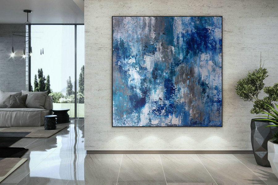 Large Abstract Painting,Modern abstract painting,painting wall art,bedroom wall art,abstract decor,acrylic textured art DAC054