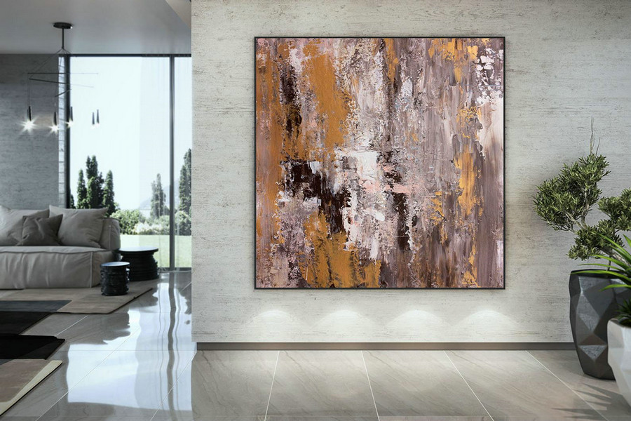 Large Painting on Canvas,Original Painting on Canvas,huge canvas painting,home decor wall,canvas custom art,textured paintings DAC049