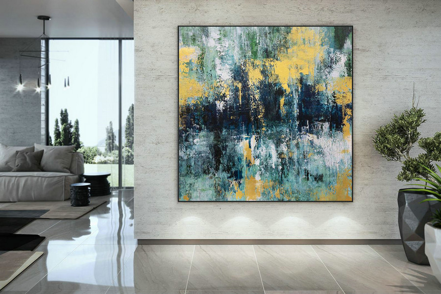 Large Abstract Painting,Modern abstract painting,painting for home,bathroom wall art,modern abstract,acrylic textured art DAC048