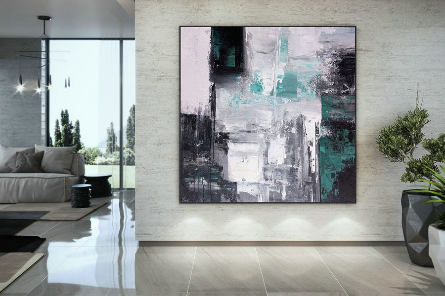 Large Modern Wall Art Painting,Large Abstract wall art,unique painting art,large abstract art,canvas wall art DAC046