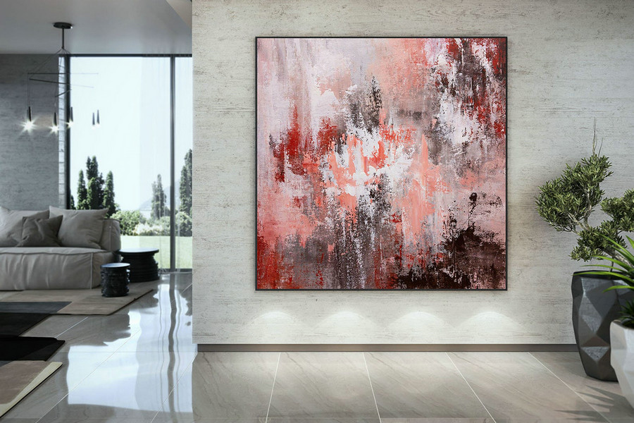Large Abstract Painting,original painting,large interior decor,modern abstract,textured paintings DMC199