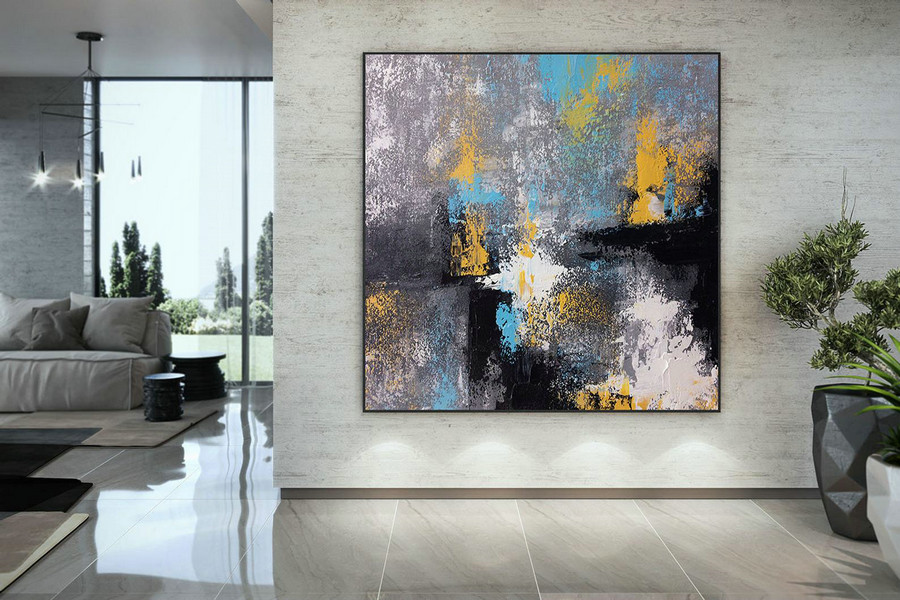 Large Painting on Canvas,Original Painting on Canvas,original painting,abstract painting,painting on canvas,abstract texture art DMC127
