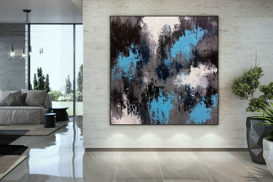 Large Abstract Painting,Modern abstract painting,bright painting art,painting on canvas,abstract painting,abstract texture art DMC117