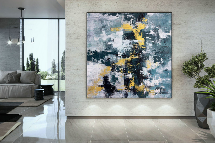Large Abstract Painting,Modern abstract painting,office decor set,abstract decor,texture art painting,art with texture DAC051