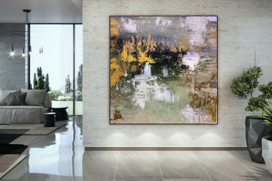 Large Abstract Painting,original painting,large interior art,modern abstract,original textured DAC028