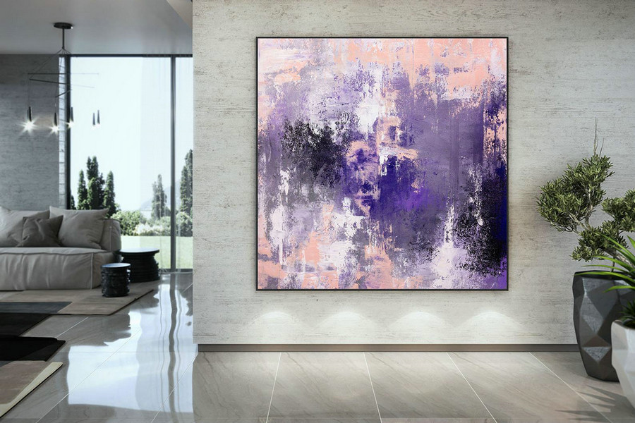 Large Abstract Painting,oil hand painting,abstract painting,extra large wall art,abstract texture art DAC019