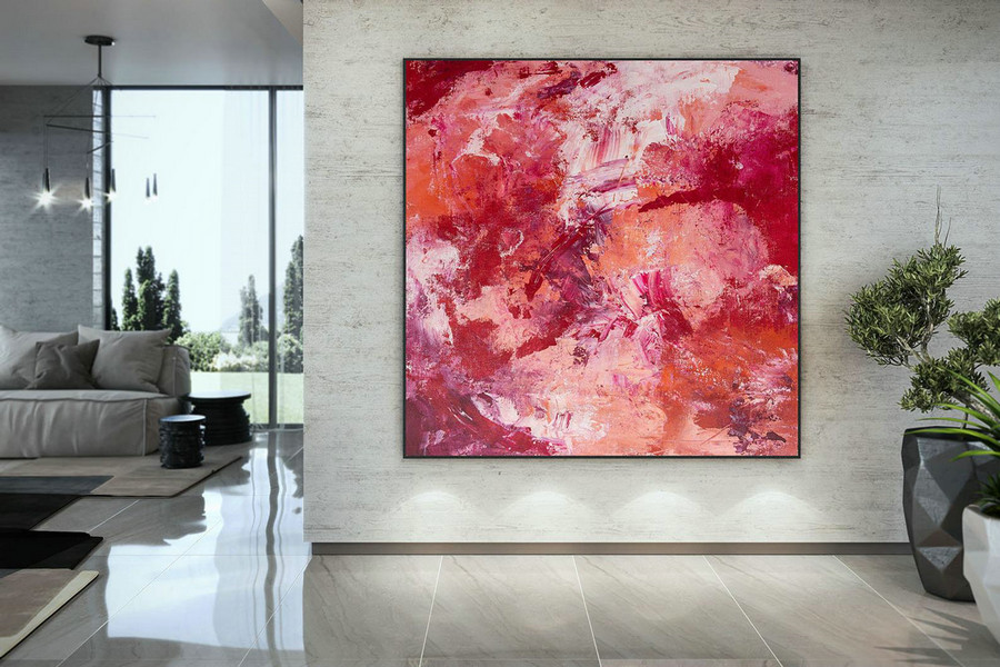 Large Painting on Canvas,Extra Large Painting on Canvas,large canvas art,huge canvas painting,oil large painting DAC014