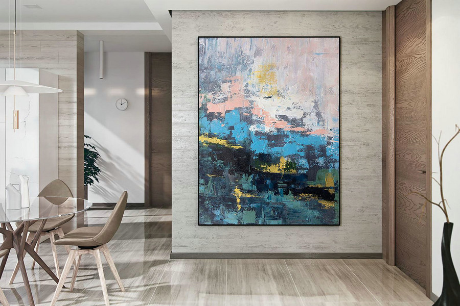 Original Abstract Canvas Art,Large Abstract Canvas Art,oil abstract canvas,painting original,xl abstract painting DAc003