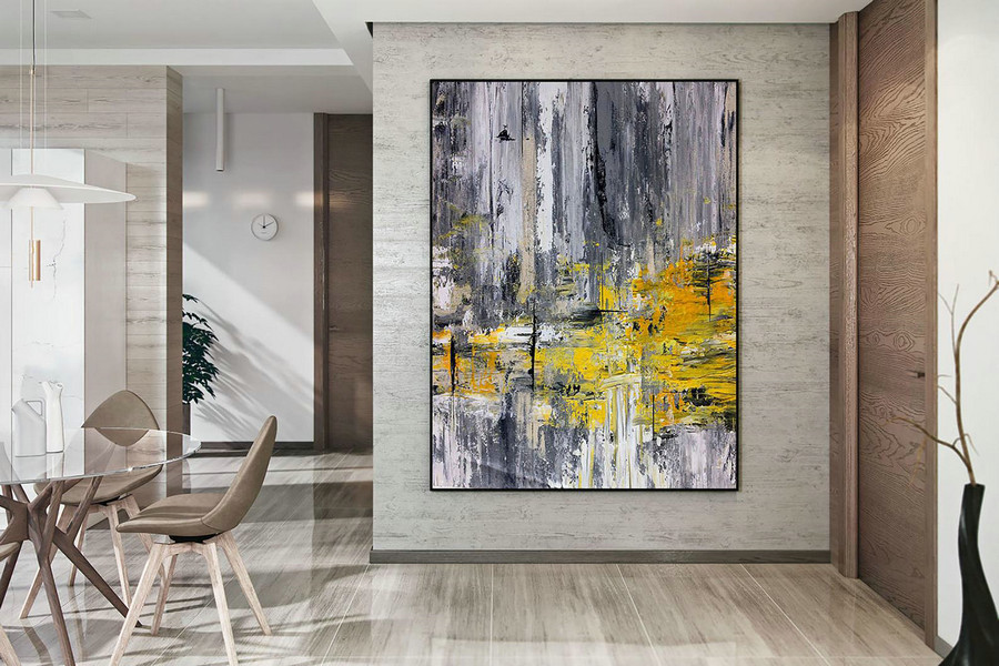Large Abstract Painting,Modern abstract painting,oil hand painting,oil knife painting,xl abstract painting,textured art DAC018