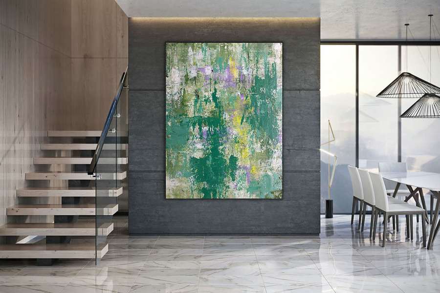 Large Modern Wall Art Painting,Large Abstract Painting on Canvas,oil hand painting,painting canvas art,large wall art DAC026